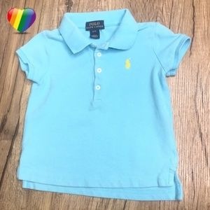 Polo Ralph Lauren Blue Short Sleeve Polo A070187